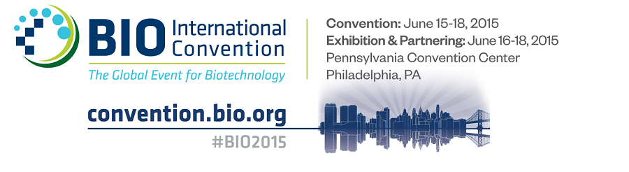 ▪ BIO Convention 2015, June 15-18, Philadelphia – EEUU