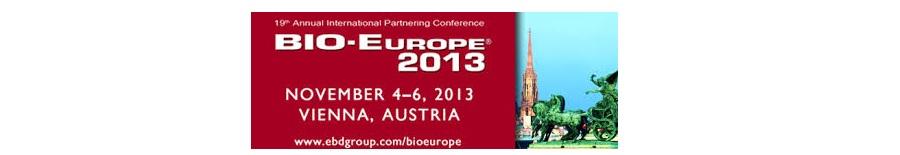 ▪ Especial incapie a las innovaciones científicas académicas en BIO-Europe 2013, 4-6 de Noviembre – Viena, Austria