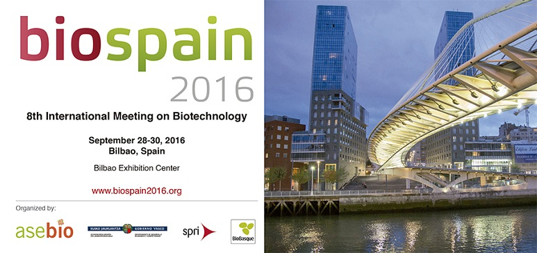 8th International meeting in Biotechnology – BIOSPAIN, Bilbao