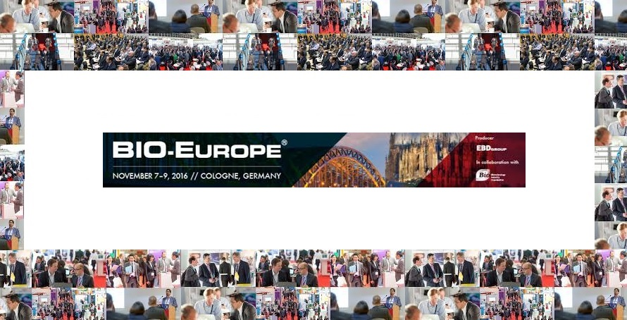 MEDINA, partnering @BioEurope 16, November 7-9, Cologne – Germany
