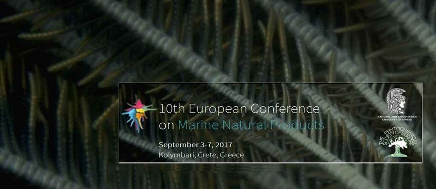 ▪ 10th European Conference on Marine Natural Products, September 3-7, Crete – Greece