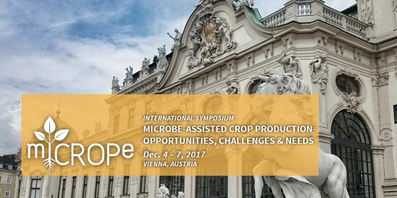 ▪ miCROPe International Symposium, Dec. 4-7, Vienna – Austria