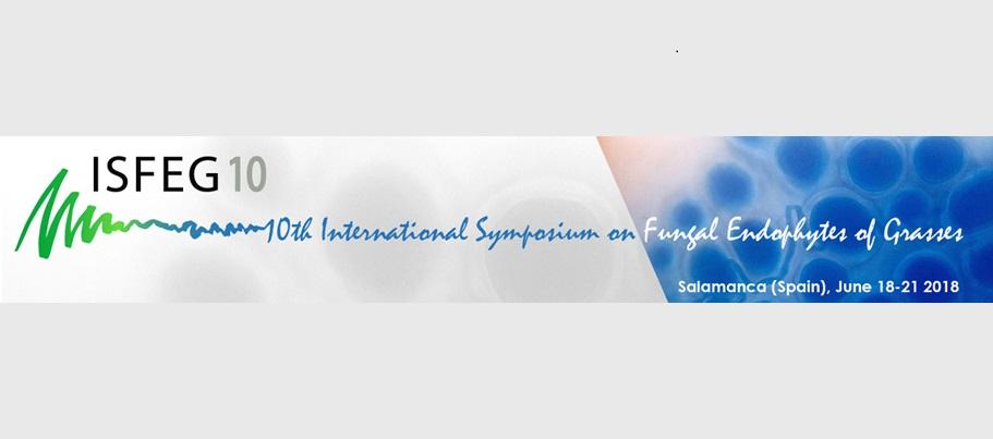 10th International Symposium on Fungal Endophytes of Grasses, June 18 – 21, Salamanca (Spain)
