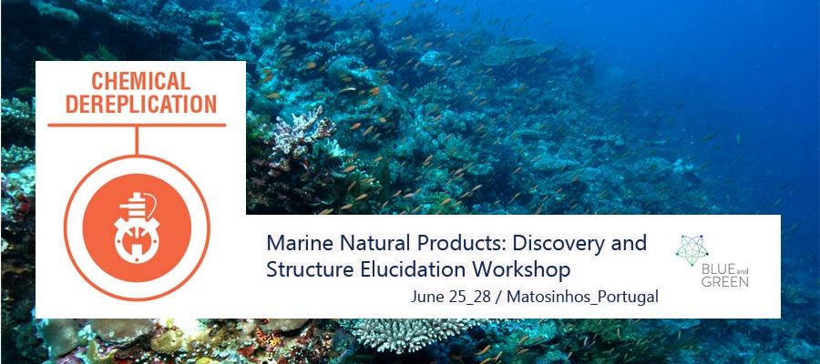 Productos Naturales Marinos: Taller sobre Descubrimiento y elucidación estructural, 25 – 28 Junio, Matosinhos – Portugal