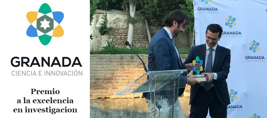 "▪ MEDINA receives the Excellence in Research prize for its research line in new anti-infectives at the first edition of the ""Granada, Town of Science and Innovation"" Awards"