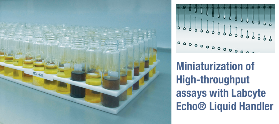 ▪ Fundación MEDINA improves transference of MEDINA's Microbial Natural Products extracts using the Labcyte Echo® Liquid Handler