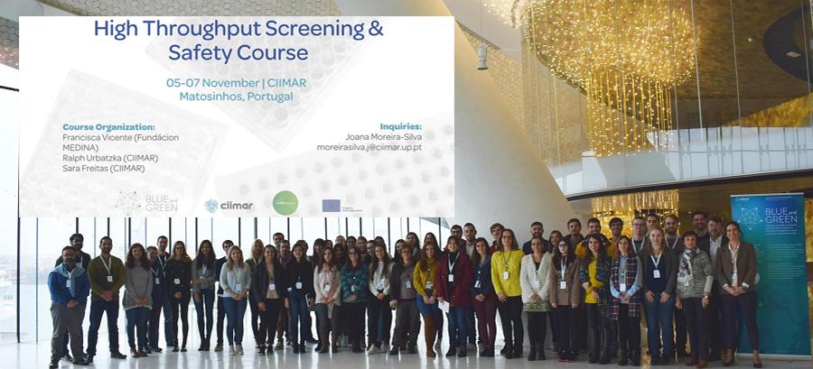 ▪ High Throughput Screening & Safety Course, 5-7 Noviembre, Matosinhos – Portugal