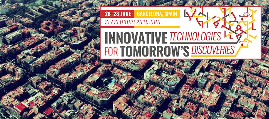 ▪ SLAS Europe 19, 26-28 de Junio, Barcelona