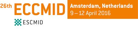 ▪ 26th ECCMID 2016, 9-12 Abril – Amsterdam, Netherlands