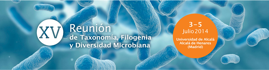 ▪ XV Meeting of the Research group specialized in Taxonomía, Filogenia y Diversidad Microbiana  in Alcala de Henares