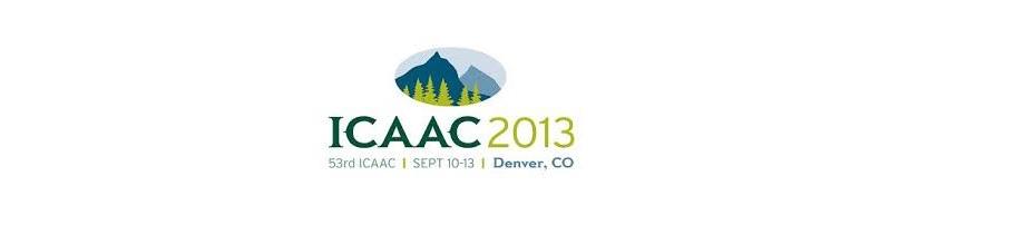▪ ICAAC2013 una nueva familia de antibioticos de Productos naturales, Denver – EEUU