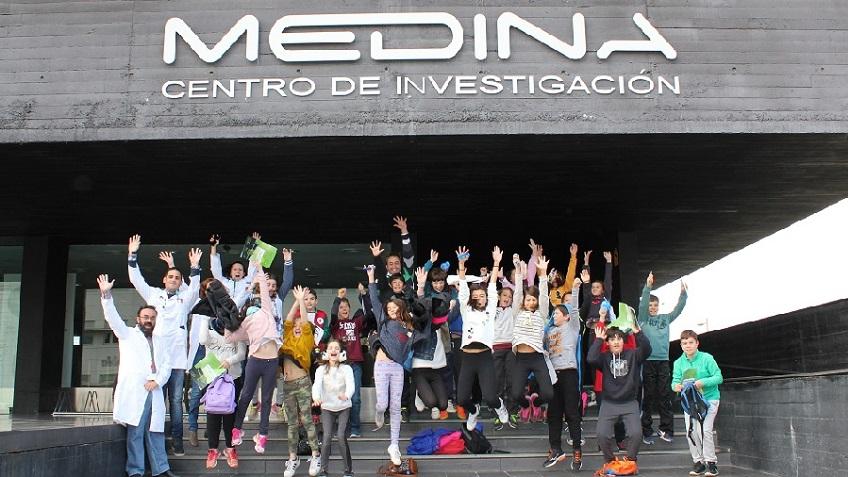 ▪ Pupils from the school Colegio ALQUERIA visit Fundación MEDINA