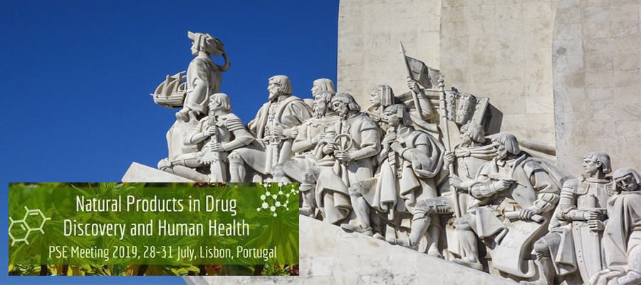 Natural Products in Drug Discovery and Human health, PSE Meeting, 28-31 de Julio, Lisboa – Portugal