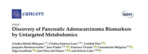 Discovery of Pancreatic Adenocarcinoma Biomarkers by Untargeted Metabolomics